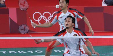 Olimpiade Tokyo 2020 - Gagal Bawa Pulang Medali, Ahsan/Hendra Enggan Berhenti Bermain