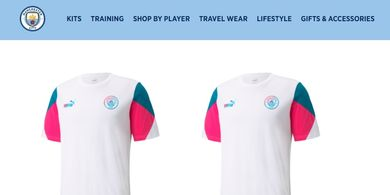 Heboh, Netizen Sebut Kaus Manchester City Mirip Jersey RANS Cilegon FC