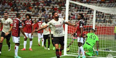 Sekali Sentuh 1 Gol dalam 5 Menit, Olivier Giroud Siap Patahkan Kutukan Nomor Keramat AC Milan