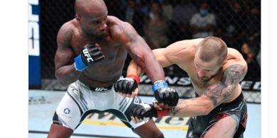 Hasil UFC Vegas 33 - Tendangan Kepala dan Tabrakan Kereta Munculkan KO Brutal