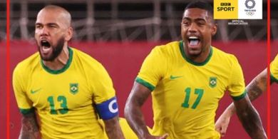 Olimpiade Tokyo 2020 - Duel 2 Kapten Nyaris 40 Tahun Tamat, Dani Alves Menuju Emas Perdana