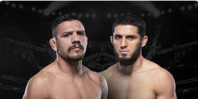 Rafael dos Anjos dan Islam Makhachev Sepakat Bentrok pada UFC 267
