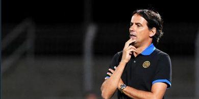 Inter Milan Telan Kekalahan Perdana, Simone Inzaghi Tetap Puji Anak Asuhnya