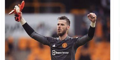 Jadi Pahlawan Kemenangan, David de Gea Belum Pasti Jadi Kiper Utama Manchester United