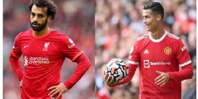 Jelang Man United Vs Liverpool, Ronaldo Beri Pesan Tegas, Salah Tak Mau Kalah