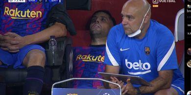 Terlihat Lemas, Jordi Alba Ternyata Demam Tinggi dan Menceret tapi Dipaksa Main