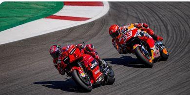 Kelewat Berani, Marc Marquez Sebut Yamaha Lebih Lemah ketimbang Ducati