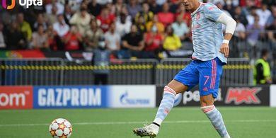 Deja Vu, Ronaldo Tak Ditakdirkan Punya Debut Manis di Liga Champions Bareng Man United