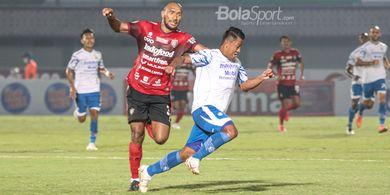 Hasil Liga 1 - Diwarnai Kartu Merah, Bali United dan Persib Bandung Berbagi Poin