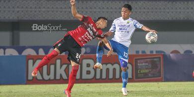 Hasil Imbang Persib vs Bali United Memperpanjang Rekor Tak Terkalahkan Kedua Tim