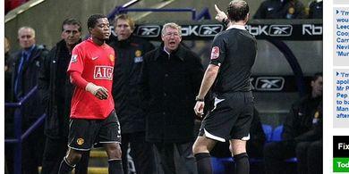 Pengakuan Eks Wasit Liga Inggris: Gemetar Tak Karuan usai Usir Sir Alex Ferguson