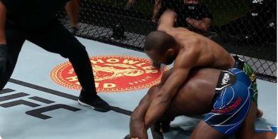 Hasil UFC Vegas 37 - Korban Tendangan Wakanda Rasakan Kalah KO Lagi