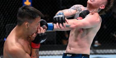 Hasil UFC Vegas 37 - Impresif, Jagoan Termuda asal China Menang Segalanya