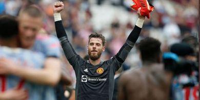 Jadi Pahlawan Man United, David de Gea Bingung dengan Pilihan Eksekutor Penalti West Ham
