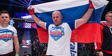 Usai Menang Sangar, Dedengkot MMA Rusia: Terima Kasih Khabib