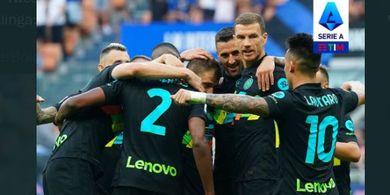 Hasil dan Klasemen Liga Italia - Bantai Bologna, Inter Milan ke Puncak