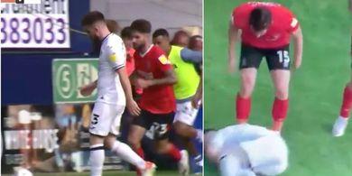 VIDEO - Tebas Kaki Pemain Lawan, Eks Arsenal Selamat dari Kartu Merah
