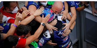 Podium Bastianini Lebih Baik dari Zarco bagi Reale Avintia pada MotoGP