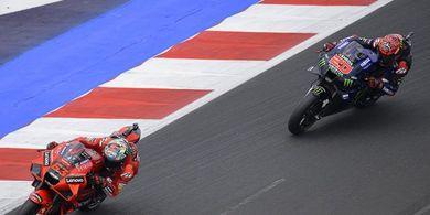 Hitung-hitungan Juara Dunia MotoGP 2021 - Tinggal Quartararo vs Bagnaia setelah 3 Oktober