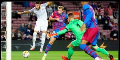 Barcelona Tertinggal Lewat Gol Kilat Granada di Babak Pertama