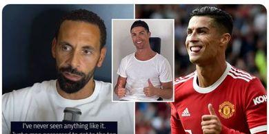 Masuki Rumah Ronaldo, Ferdinand Kaget Temukan Sejumlah Orang Tak Biasa