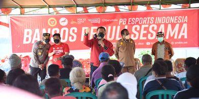 PB Esport Indonesia Gelar Vaksinasi dan Baksos Untuk Masyarakat di Jayapura