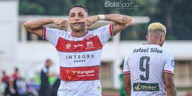 Tiga Poin dan Kepala Berdarah Hiasi Kemenangan Madura United atas PSS Sleman