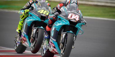 Dovizioso : Saya dan Rossi Tidak Berteman, tetapi Saling Menghormati