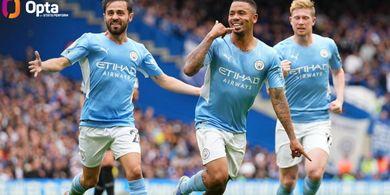 Hasil Liga Inggris - Tembakan Memutar Gabriel Jesus Bikin Chelsea Kalah Pertama Kali Musim Ini