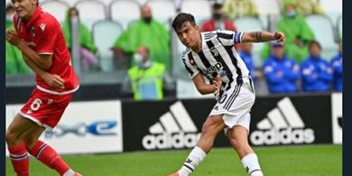 Hasil Babak I - Diwarnai Drama Dybala Menangis, Juventus Unggul 2-1atas Sampdoria