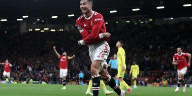 Habis Bawa Manchester United Menang, Cristiano Ronaldo Kirim Pesan ke Rio Ferdinand