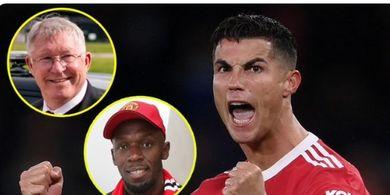 Senang dengan Kepulangan Ronaldo, Manusia Tercepat di Dunia Berterima Kasih kepada Sir Alex Ferguson