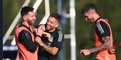 Argentina Vs Peru - Kans Lionel Messi Cs Lanjutkan Tren Tak Terkalahkan