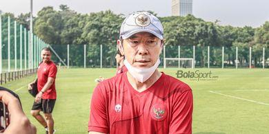 Kata Shin Tae-yong Usai Timnas U-23 Indonesia Hanya Memiliki 1 Lawan