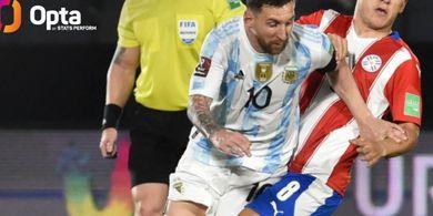 Argentina Vs Peru - Lionel Messi Dikutuk, Cuma Cetak 1 Gol Kontra La Blanquirroja di Usia 20 Tahun