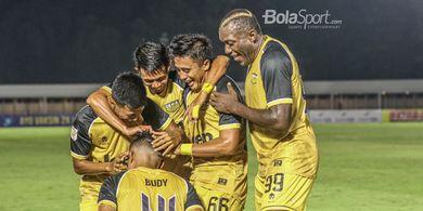 Berkat Kerja Keras Pemain, Dewa United Makin Kokoh di Puncak Klasemen Grup B Liga 2