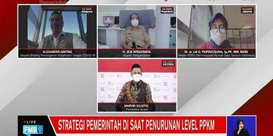 Kabar Baik, Positivity Rate Covid-19 Indonesia Capai Angka Terendah Sejak PPKM Diberlakukan