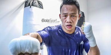 Gelar Dicopot karena Pandemi, Petinju Indonesia Daud Yordan Incar Sabuk Juara Lagi