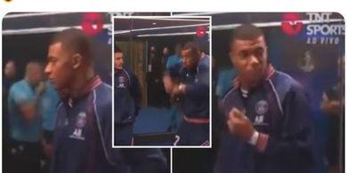 Lionel Messi Cs Dibuat Kaget oleh Bunyi Peluit Wasit, Reaksi Kylian Mbappe Paling Kocak