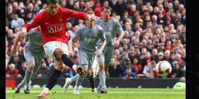 Man United vs Liverpool - Cristiano Ronaldo Baru 2 Gol di Derbi Barat Laut