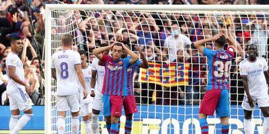Hasil dan Klasemen Liga Spanyol - Barcelona Tak Jadi Terperosok ke Peringkat 10, Villarreal Selamat di Menit 95