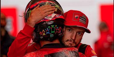 Perjudian Dua Pembalap Ducati Berujung Buruk, Jack Miller: Kami Salah Pakai Ban