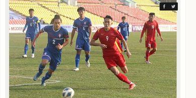 Lawan Negara yang Habis Dibantai Timnas Indonesia, Timnas U-23 Vietnam Menang Susah Payah