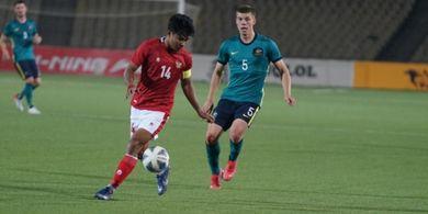 Sebelum Kalah Tipis, Timnas U-23 Indonesia Gemetar Duluan Lihat Besarnya Pemain Australia