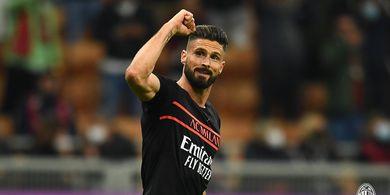 Hasil Liga Italia - Ibrahimovic Cuma Main 3 Menit, Giroud Pahlawan, AC Milan Bungkam Torino