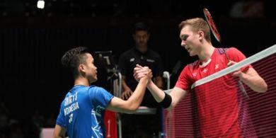 Rekor Pertemuan Indonesia Vs Denmark pada Piala Sudirman, 13 Kali Bertemu