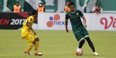 Tak Ada Kompetisi Liga 1, Striker Persita Tangerang Perdalam Ilmu Bela Diri