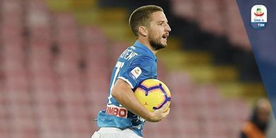 Tak Mau Akui Hasil, Mertens Sebut Napoli Lebih Kuat Ketimbang Arsenal