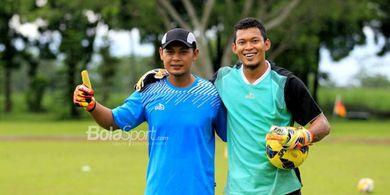 Isi Waktu Libur, Kiper PSIS Semarang Pergi Latihan ke Gua Pancur