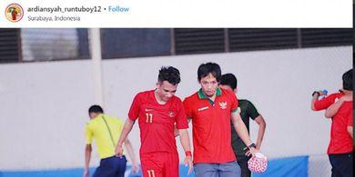 VIDEO -  Gol Ciamik Bintang Timnas Futsal Indonesia, Kiper Kamboja Tak Berkutik